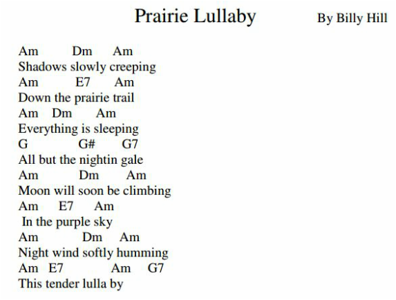 Prairie Lullaby ♪ Little Ukulele ♫ Impressive Somewhere Over The Rainbow Ukulele Strum Pattern